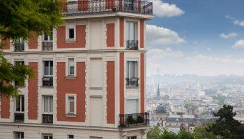 House in Montmartre, Paris